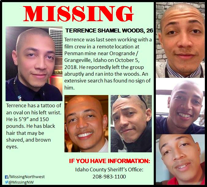 Terrence Woods Missing
