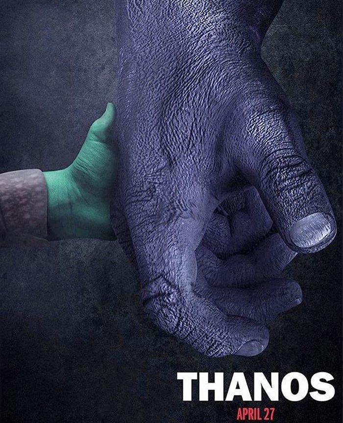 Thanos - Logan Poster
