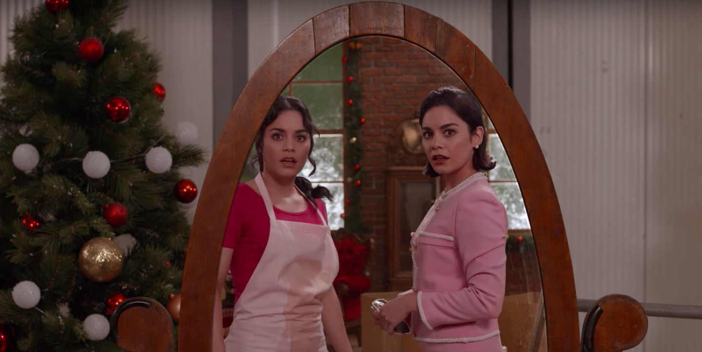 The Christmas Switch.The Princess Switch Trailer Vanessa Hudgens Is Seeing