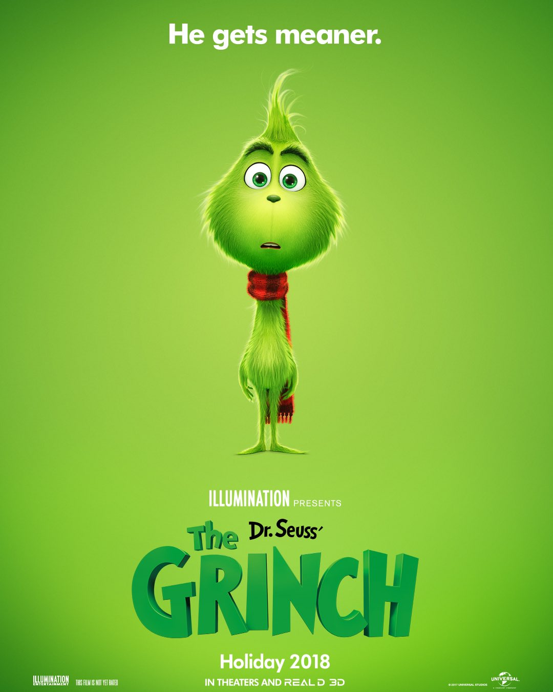 Image result for the grinch movie poster
