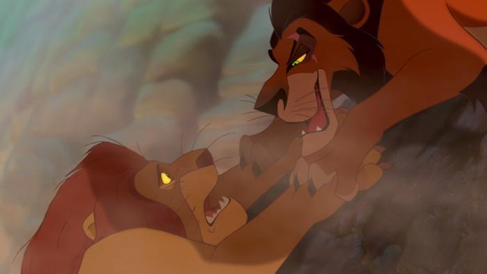 the lion king mufasa death