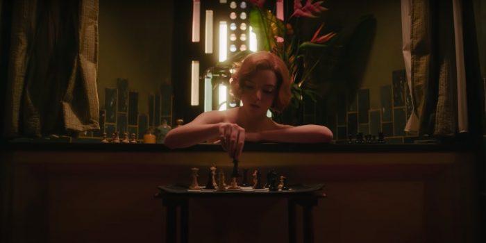 the queen's gambit trailer