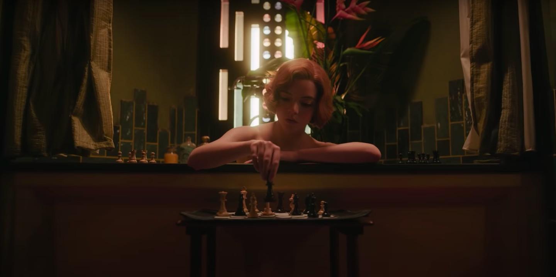the queen s gambit trailer anya taylor joy is a chess genius film the queen s gambit trailer anya taylor