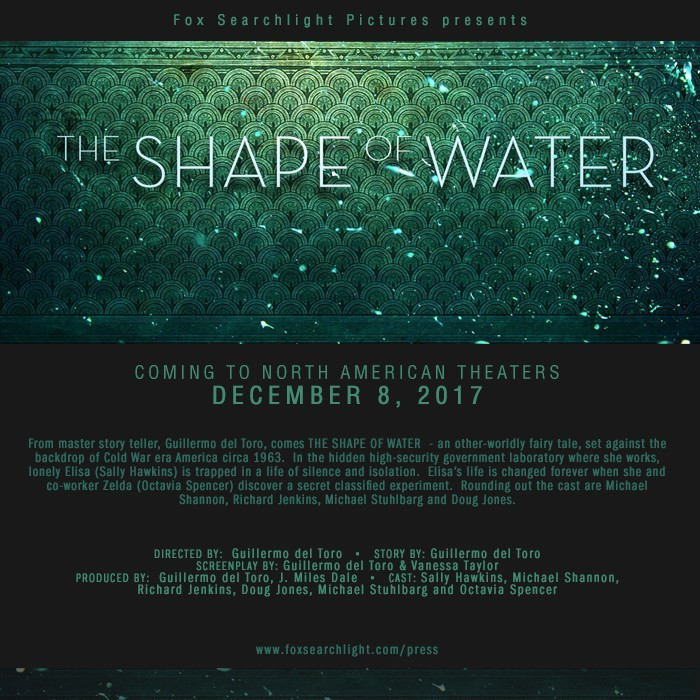 the shape of water release date