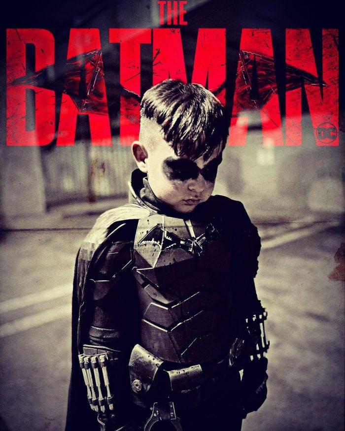 The Batman - Kid Cosplay