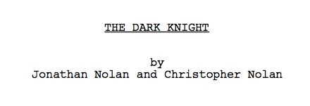The Dark Knight Nears $1 Billion; Download The Screenplay