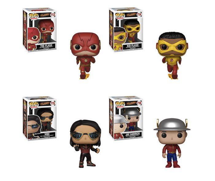 The Flash Funko POPs Season 5