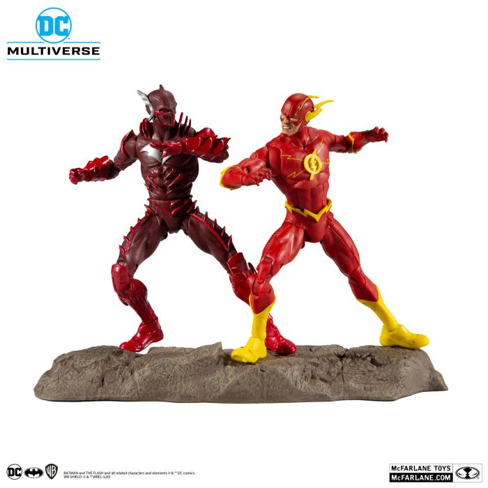 The Flash and Red Death Action Figure Two-Pack