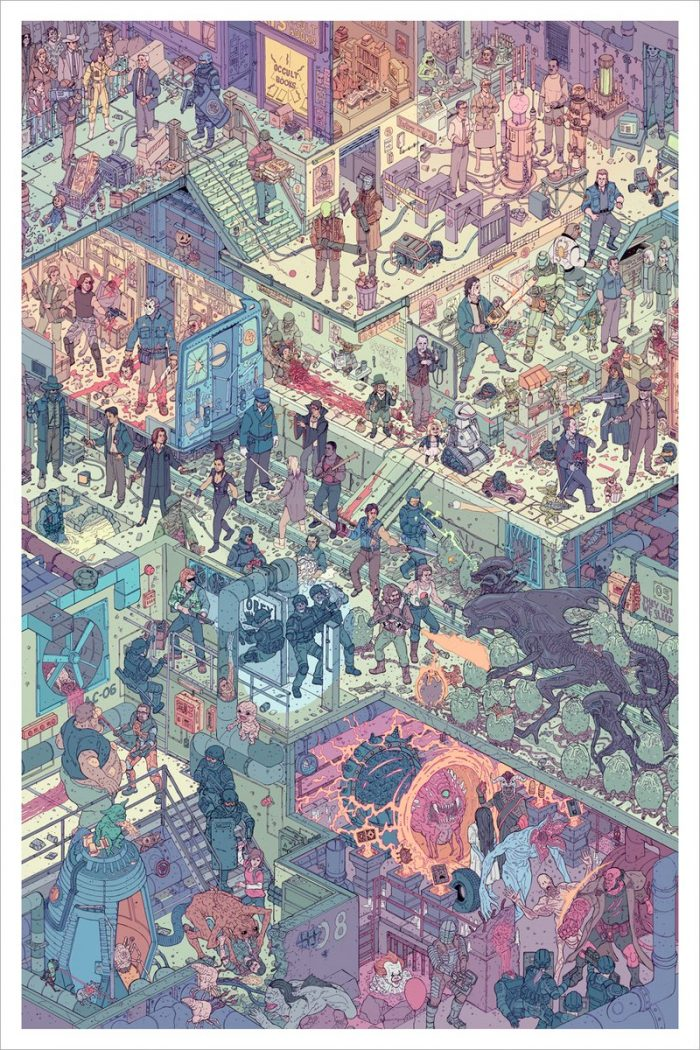 The Raid 2 Print