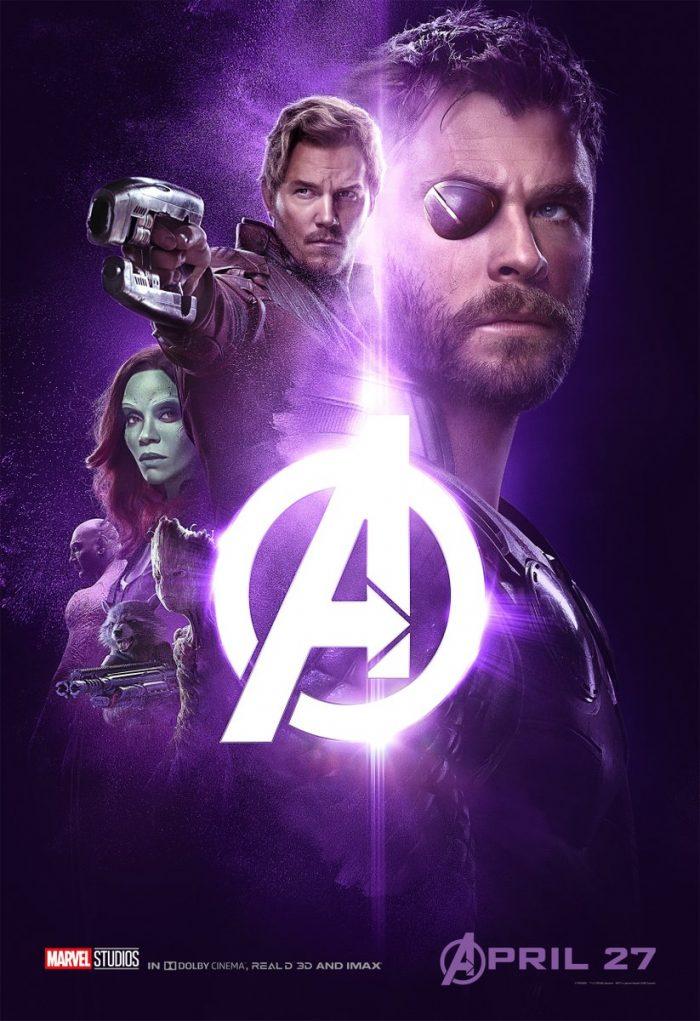 thor infinity war poster