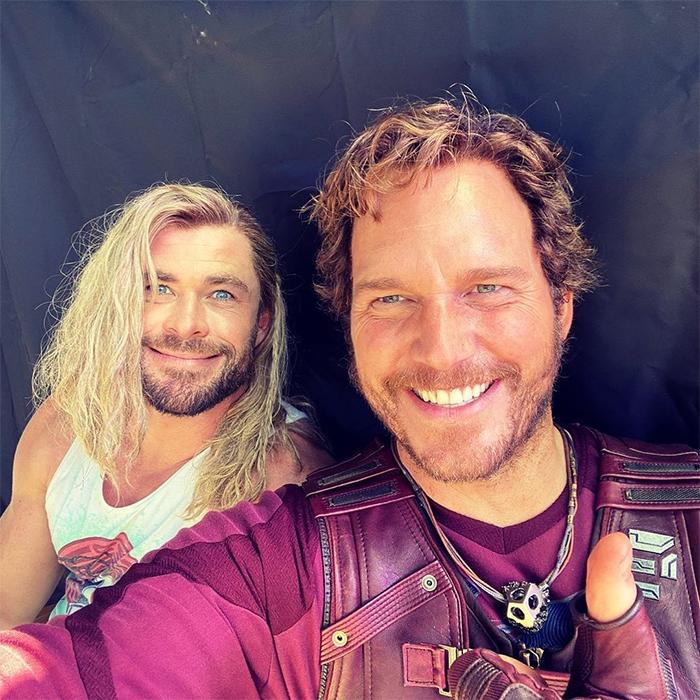 Thor: Love & Thunder - Chris Pratt and Chris Hemsworth