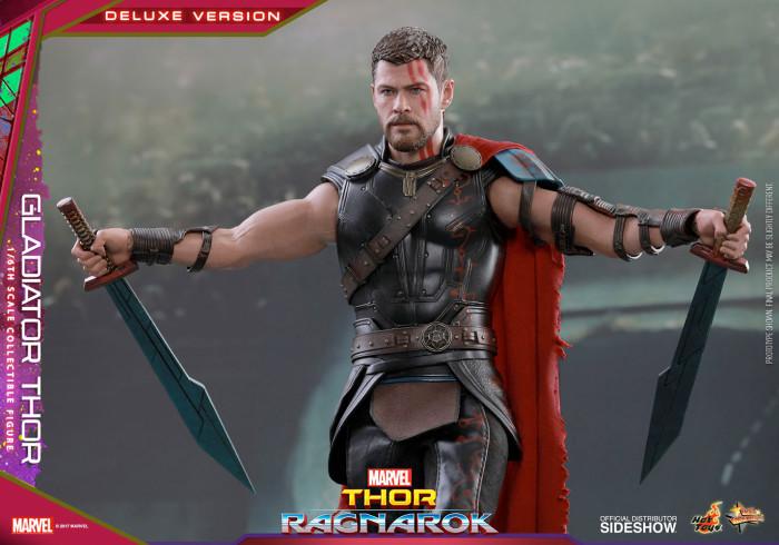 Thor Ragnarok Hot Toys - Gladiator Thor Figure