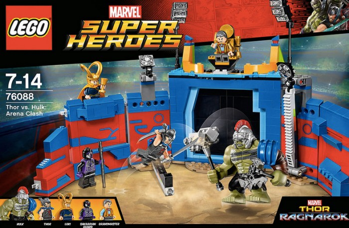 Thor Ragnarok LEGO Set