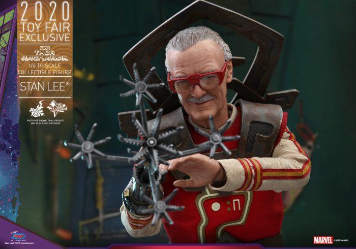 Thor: Ragnarok - Stan Lee Hot Toys Figure