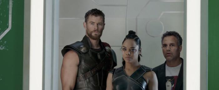 Thor Ragnarok - Thor, Valkyrie and Bruce Banner