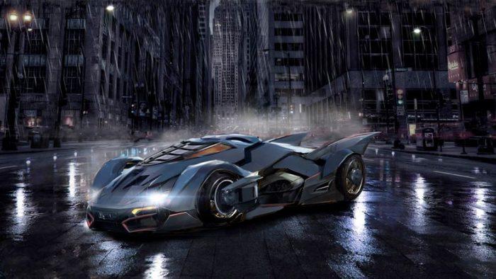 Titans - Batmobile Concept Art