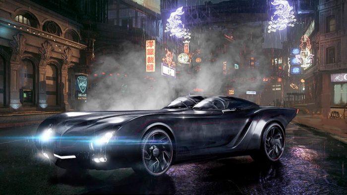 Titans Batmobile Concept Art