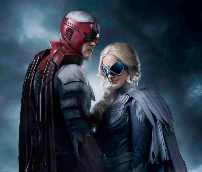 Titans First Look - Hawk and Dove