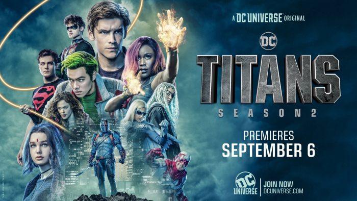 Titans Season 2 Banner