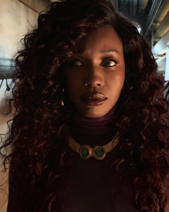 Titans Season 3 - Anna Diop as Starfire