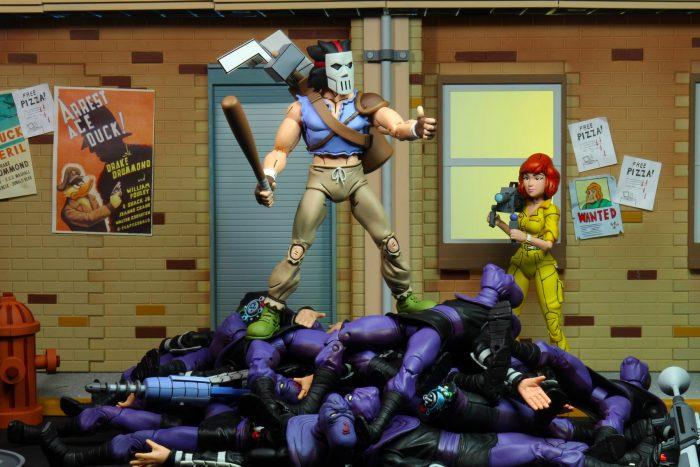 Teenage Mutant Ninja Turtles: The Animated Series NECA Figures Wave 3