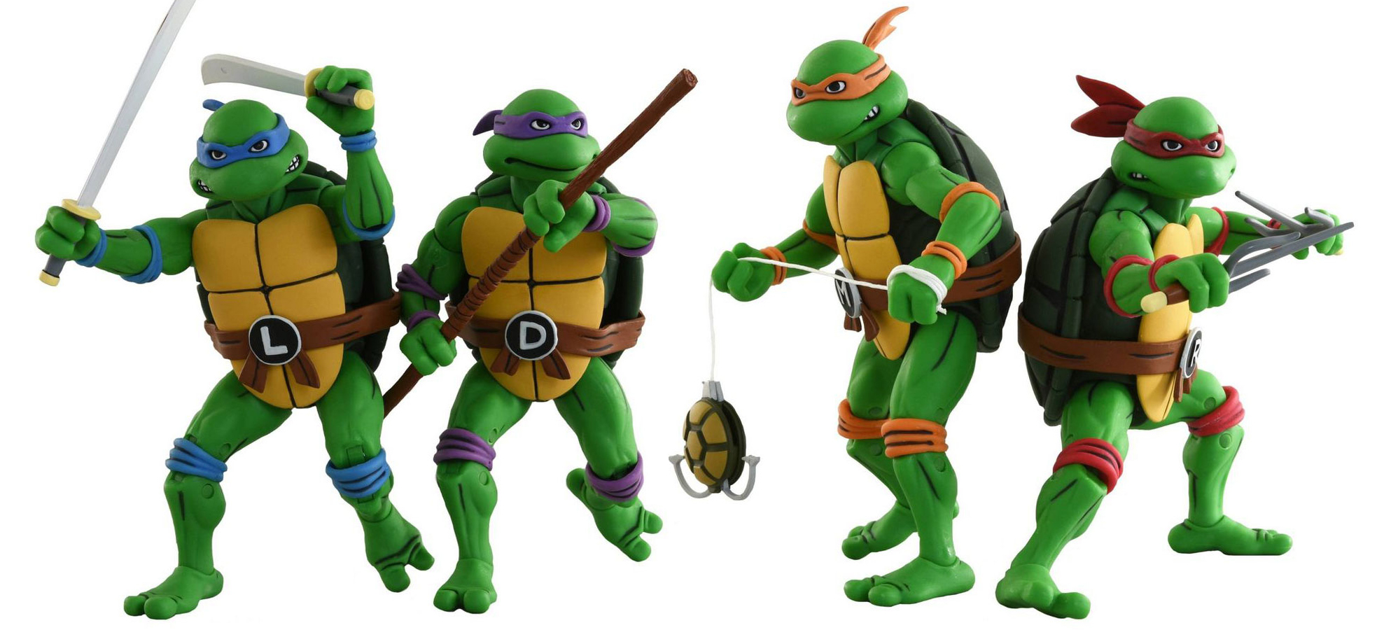 Cool Stuff Neca Animated Teenage Mutant Ninja Turtles Action Figures Get A New Wave Film