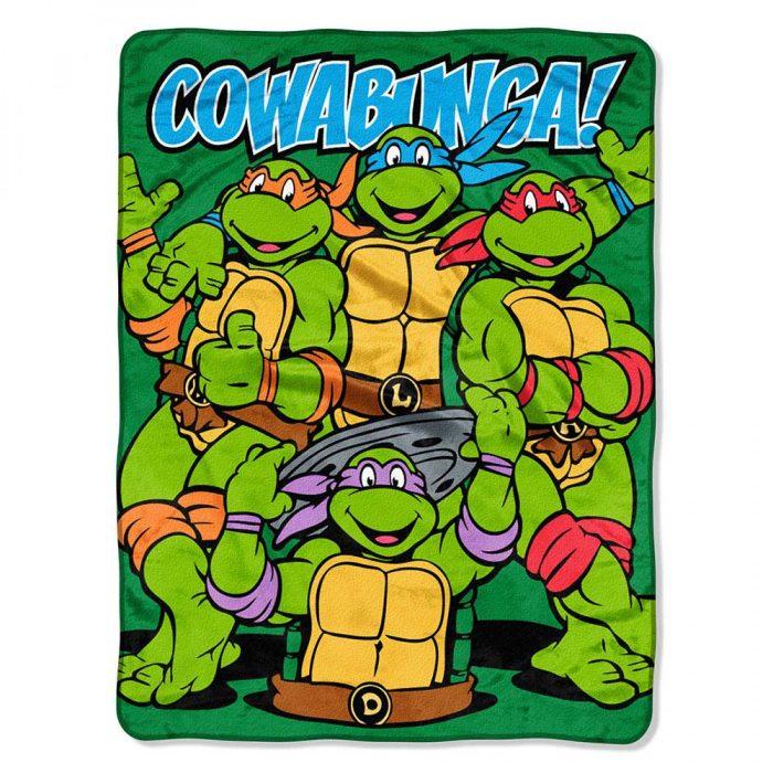 TMNT Cowabunga Blanket