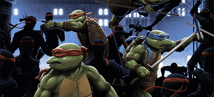 New Florey Teenage Mutant Ninja Turtles Poster Is Radical Film