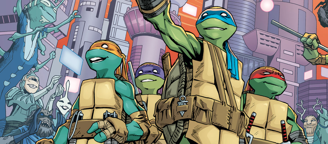 Teenage Mutant Ninja Turtles New Female Turtle Revealed In Comics Film