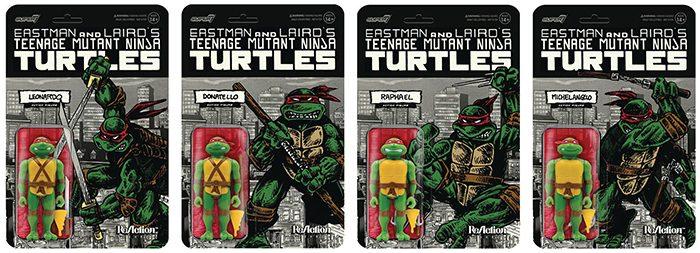 Teenage Mutant Ninja Turtles Mirage ReAction Figures