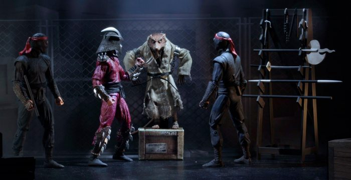 Teenage Mutant Ninja Turtles Movie Action Figures