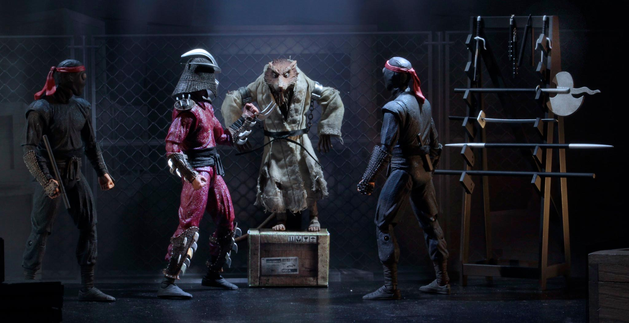 New Teenage Mutant Ninja Turtles Movie Action Figures Hit Gamestop In 2020 Film