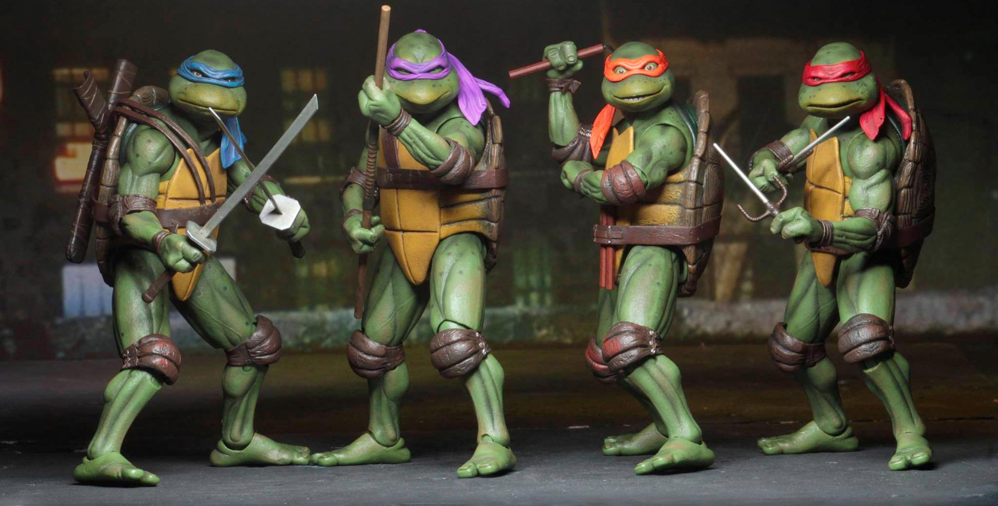 Cool Stuff: NECA's Teenage Mutant Ninja Turtles Movie ...