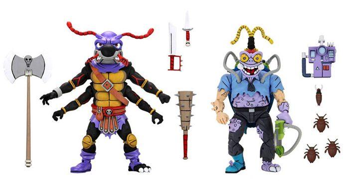 Teenage Mutant Ninja Turtles - Antrax and Scumbug Figures