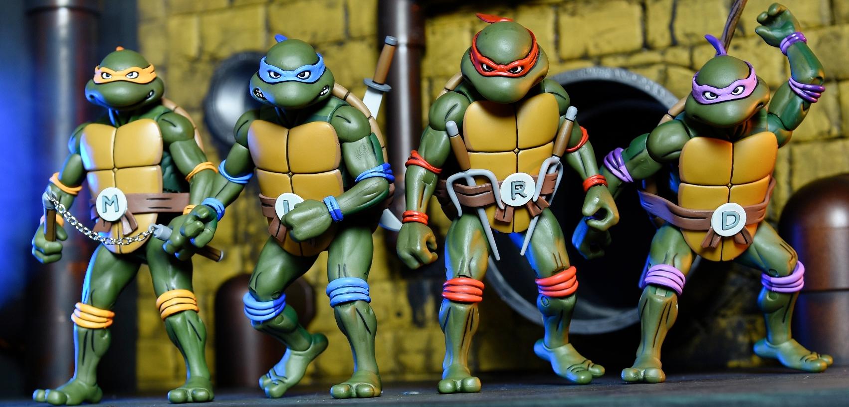 Neca teenage mutant ninja turtles action figure box set