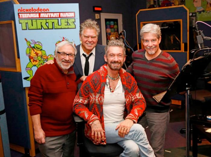Teenage Mutant Ninja Turtles Crossover Cast