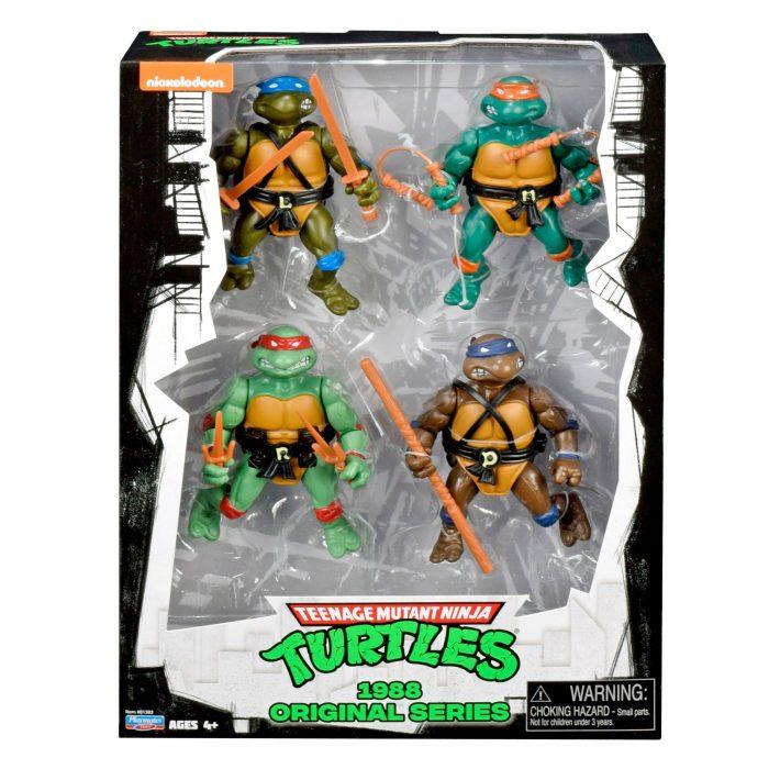 Playmates Teenage Mutant Ninja Turtles Four-Pack