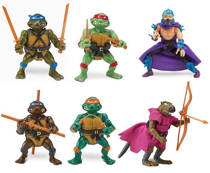 Teenage Mutant Ninja Turtles Playmates Toys Box Sets