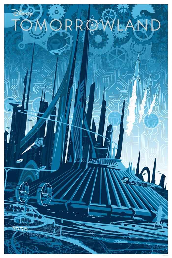 Joe Dunn Tomorrowland print