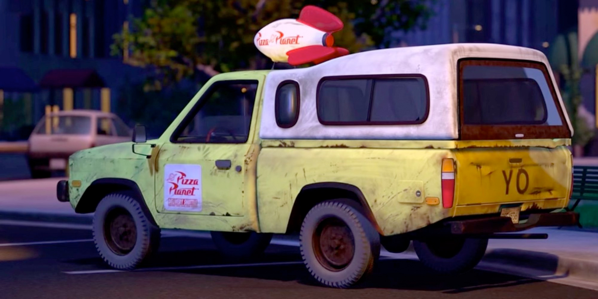 potd is this the pizza planet truck in the good dinosaur. Black Bedroom Furniture Sets. Home Design Ideas
