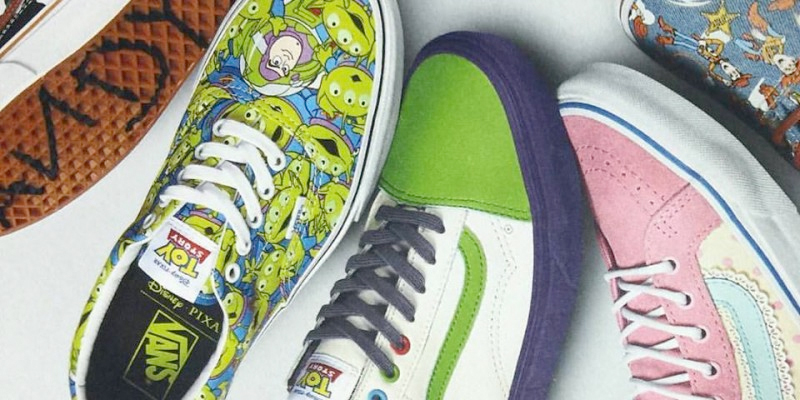 Cool Stuff A Collection Of Vans Toy Story Shoes Is On The Way