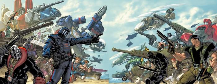 Transformers and G.I. Joe Crossover
