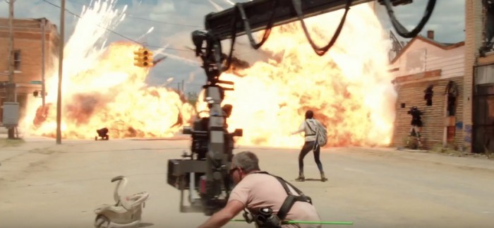 Transformers The Last Knight Footage