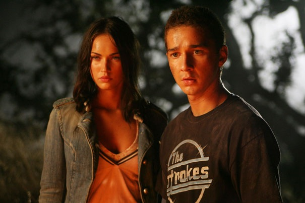 labeouf steven looked funny bak wow wit megan fox hotter