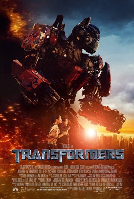 Optimus Prime Transformers Movie Poster
