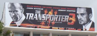 Transporter 3 billboard