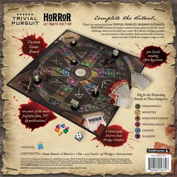 Trivial Pursuit Horror Ultimate Edition