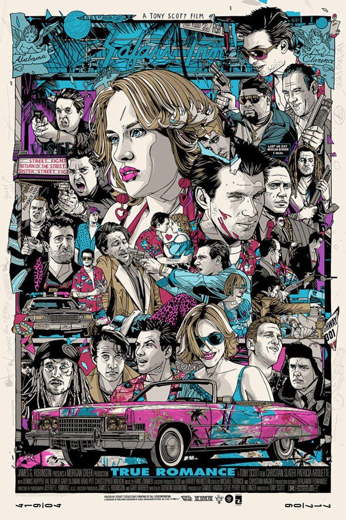 Tyler Stout True Romance Poster