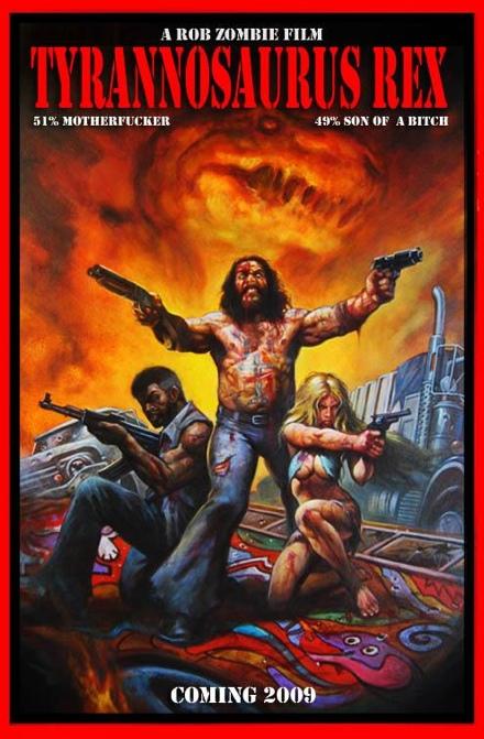 Rob Zombie\'s Tyrannosaurus Rex Teaser Poster