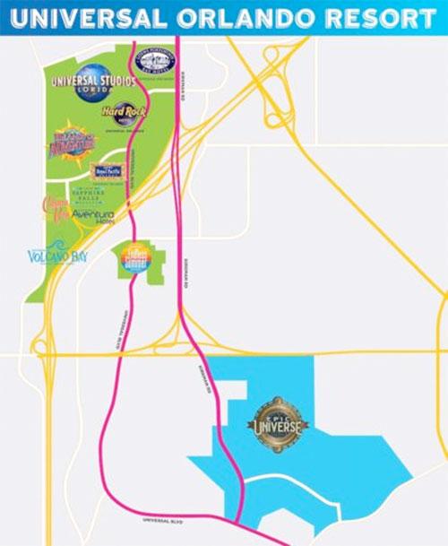 Epic Universe Theme Park Location